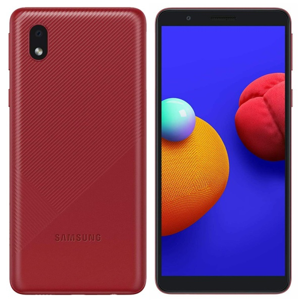 Galaxy A01 Core Red 7