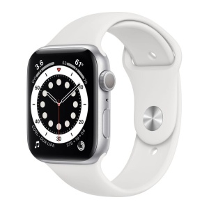 Apple Watch Series 6 Silver Aluminium White 1